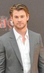 Kenneth e Chris: la strana coppia che fa tremare Asgard - Chris Hemsworth al photocall del film.