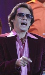 Jennifer Lopez e Marc Anthony nel film su Hector Lavoe - Hector sul palco in una scena del film El cantante.