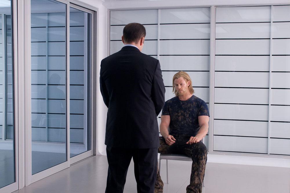 In foto Chris Hemsworth (35 anni) Dall'articolo: Un Dio arriva a salvarci.