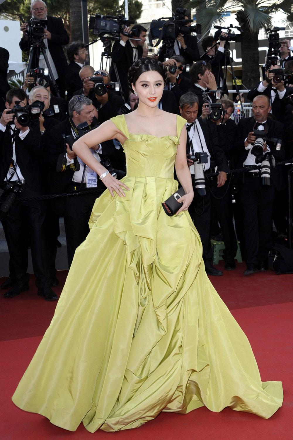 Il red carpet del film The tree of life. -  Dall'articolo: Cannes perde la testa per Malick.
