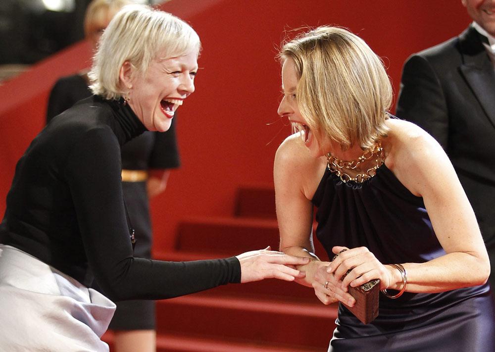 In foto Jodie Foster (59 anni) Dall'articolo: Cannes, mercoledì di politica.