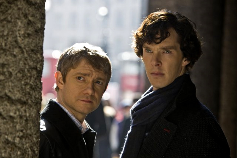 In foto Martin Freeman (49 anni) Dall'articolo: BAFTA TV 2011: Sherlock si aggiudica due premi.