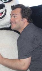 Jack Black, cuore di panda - Il photocall di Kung Fu Panda 2 a Taormina.