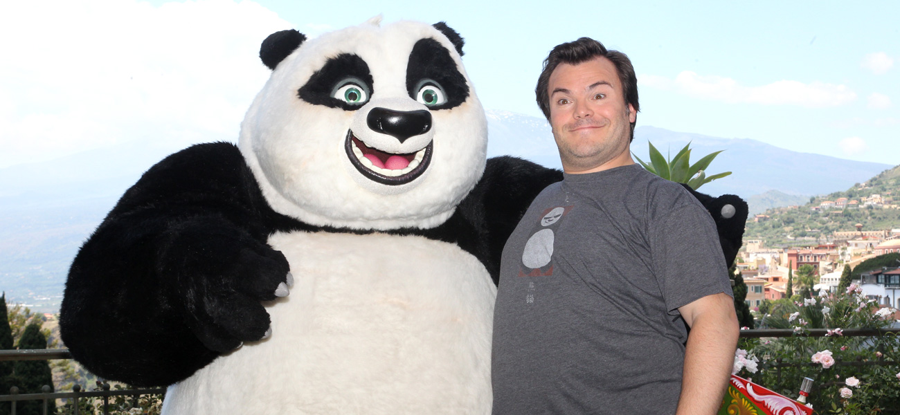 In foto Jack Black (51 anni) Dall'articolo: Jack Black, cuore di panda.