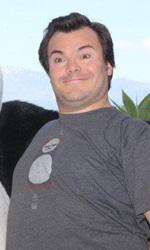 Jack Black, cuore di panda - L'attore e cantautore Jack Black a Taormina per presentare Kung Fu Panda 2, in cui presta la voce al protagonista Po.
