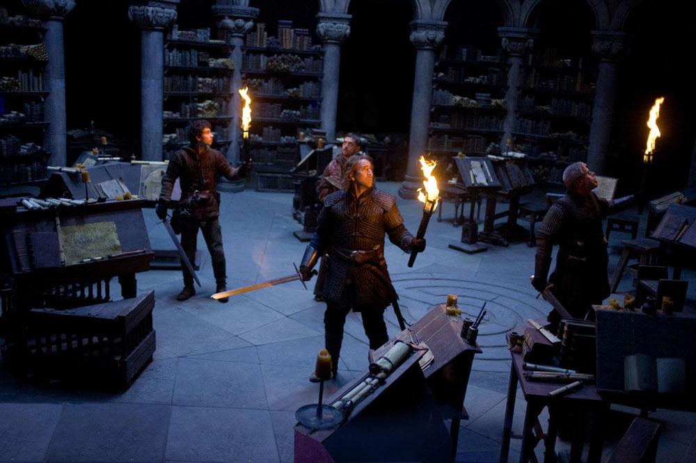 Una scena del film L'ultimo dei templari. -  Dall'articolo: Nicolas Cage, l'ultimo dei templari.