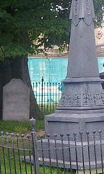 The Dark Knight Rises, incidente sul set - Il cimitero di casa Wayne.