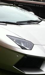 The Dark Knight Rises, incidente sul set - La nuova Lamborghini di Bruce.