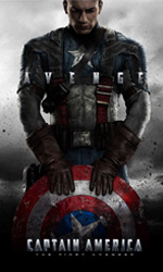Capitan America, il fumetto - Chris Evans in una scena del film Captain America: Il primo vendicatore.