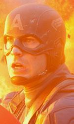 Capita, 'nammerica - Chris Evans in una scena del film Captain America: Il primo vendicatore.