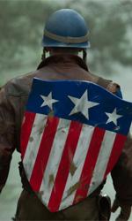 Captain Propaganda contro il male assoluto - Chris Evans in una scena del film Captain America: Il primo vendicatore.