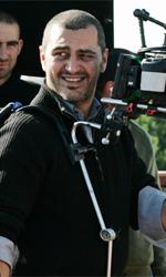 In foto il regista Guido Lombardi sul set di Là-bas, film in concorso a Venezia 68. nella sezione