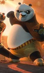 Kung Fu Panda 2, l'arte supera la tecnologia - In foto una scena del film d'animazione Kung Fu Panda 2, diretto da Jennifer Yuh