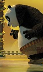 La formazione eroica di uno 'Jung' Fu Panda - In foto una scena del film Kung Fu Panda 2 di Jennifer Yuh.