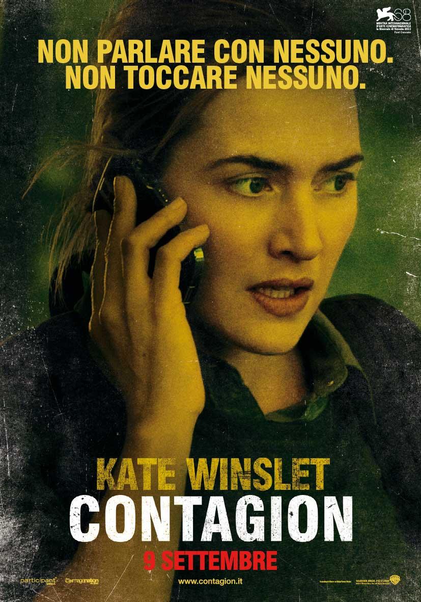 In foto Kate Winslet (46 anni) Dall'articolo: Contagion, il mondo nel panico.