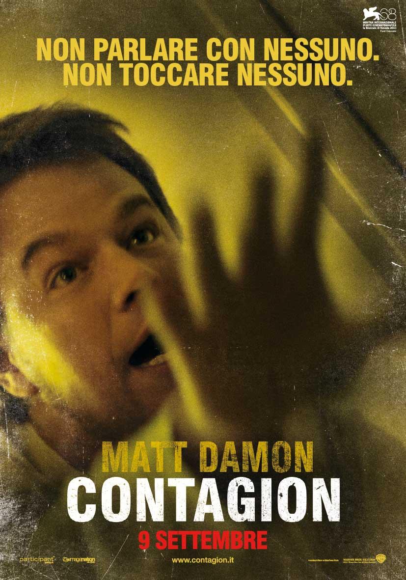 In foto Matt Damon (51 anni) Dall'articolo: Contagion, il mondo nel panico.