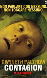 Contagion, il mondo nel panico - Il character poster di Gwyneth Paltrow.