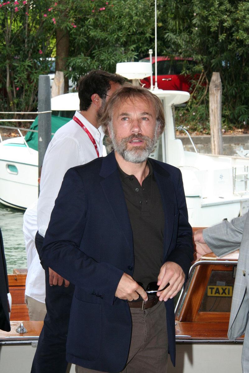 In foto Christoph Waltz (64 anni) Dall'articolo: Carnage, il Lido ai piedi di Polanski.