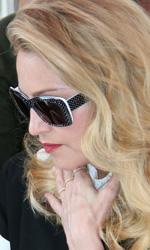 L'arrivo di Madonna e del cast di W.E. -  Dall'articolo: Lady Madonna, Imperatrice al Lido.