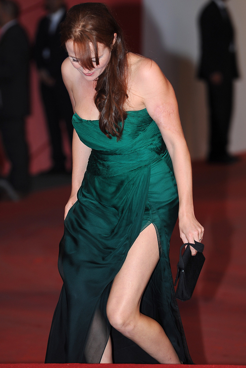 In foto Jennifer Ehle (52 anni) Dall'articolo: Soderbergh contagia Venezia.