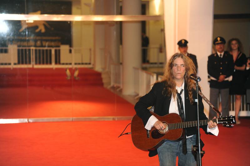 In foto Patti Smith (74 anni) Dall'articolo: MYmovies premia il cinema italiano.