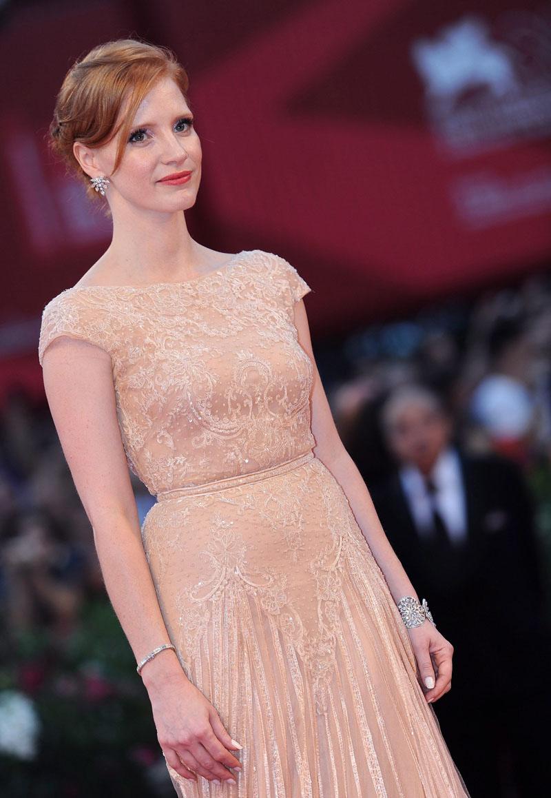 In foto Jessica Chastain (43 anni) Dall'articolo: MYmovies premia il cinema italiano.