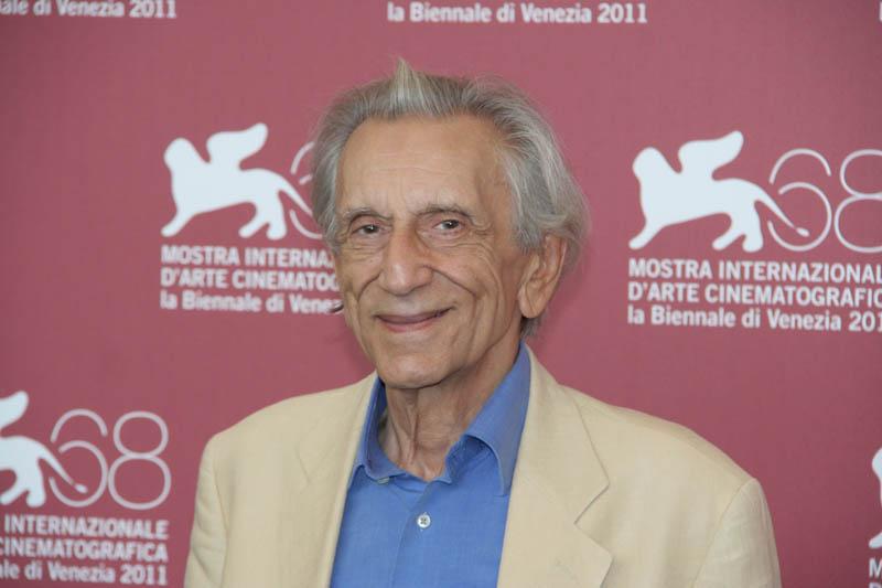 In foto Roberto Herlitzka (83 anni) Dall'articolo: Gipi, un alieno a Venezia.