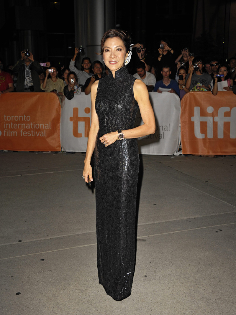 In foto Michelle Yeoh (56 anni) Dall'articolo: The Lady di Luc Besson al Tiff 2011.
