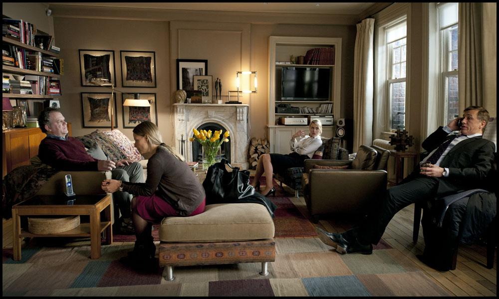 In foto Christoph Waltz (64 anni) Dall'articolo: Carnage, carneficina da appartamento.