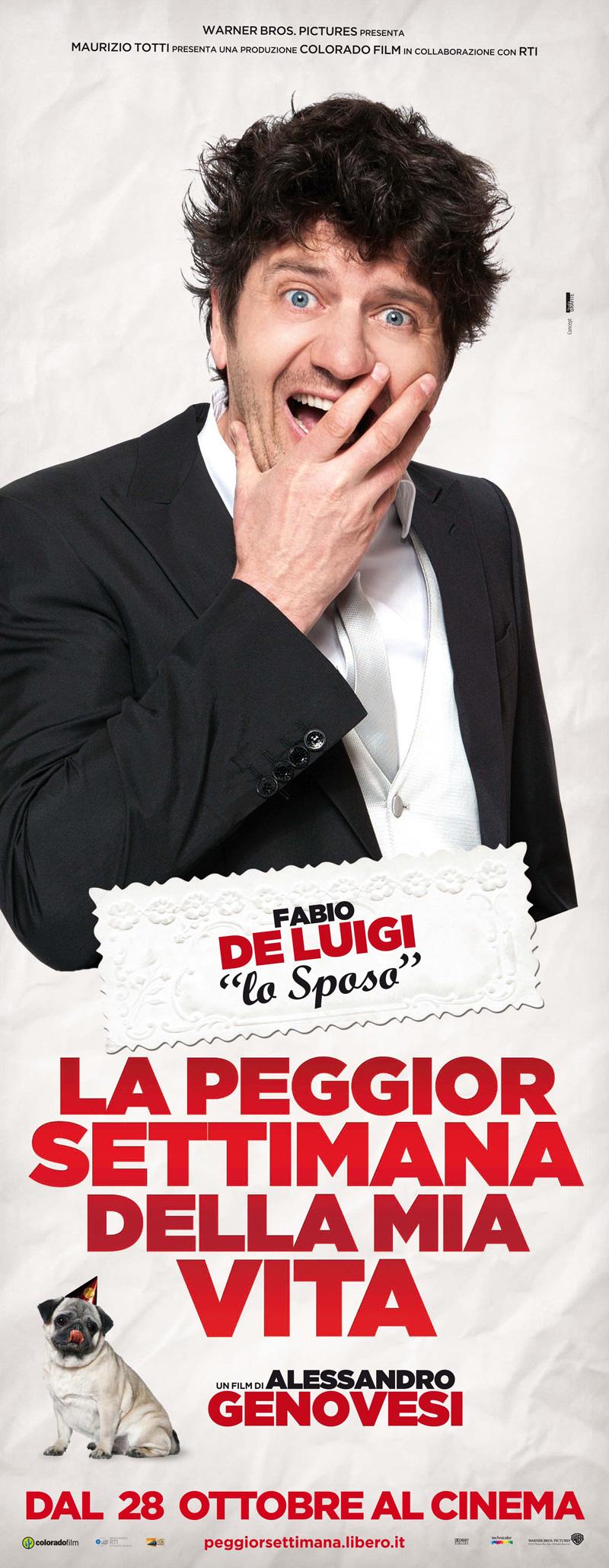 In foto Fabio De Luigi (53 anni) Dall'articolo: La peggior settimana della mia vita, il matrimonio s'ha da fare.