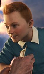 In foto una scena del film. -  Dall'articolo: Spielberg e il suo Tintin al Festival di Roma.