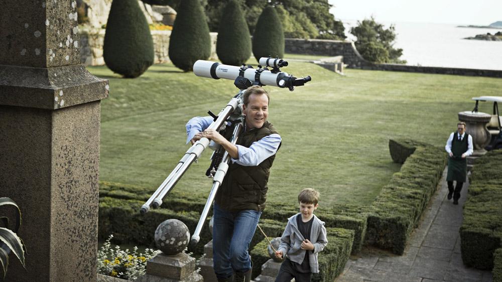 In foto Kiefer Sutherland (55 anni) Dall'articolo: Melancholia, quanto romanticismo nella fine del mondo!.