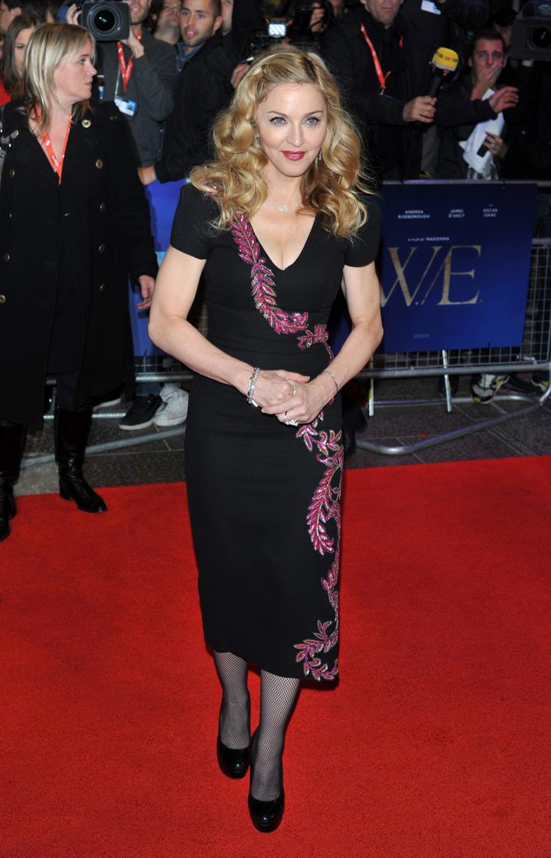 In foto Madonna (61 anni) Dall'articolo: W.E, Madonna incompresa dai media.
