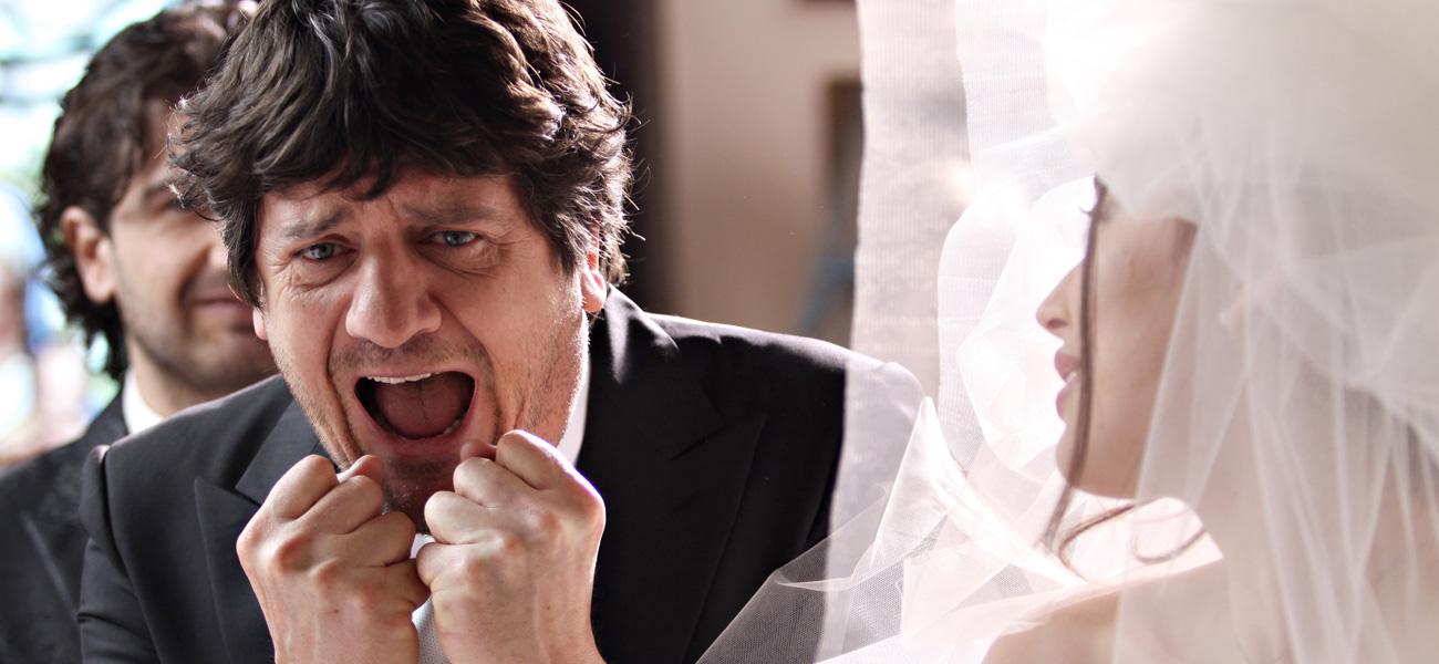In foto Fabio De Luigi (53 anni) Dall'articolo: Tragicomica commedia prematrimoniale.