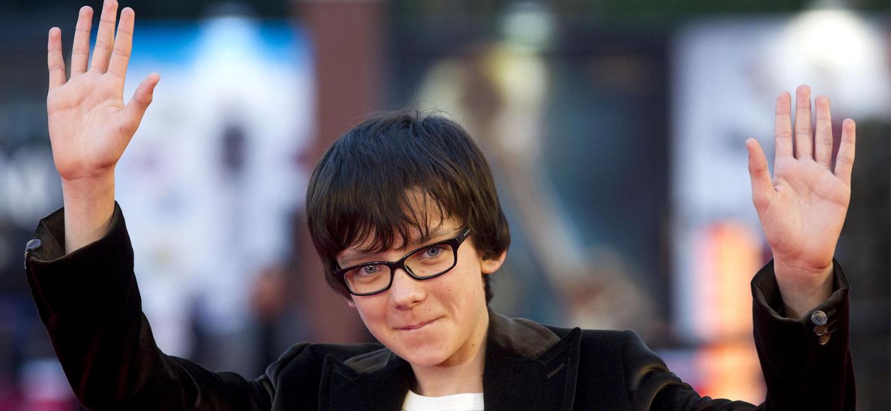 In foto Asa Butterfield (23 anni) Dall'articolo: Hugo Cabret, Scorsese per i bambini.