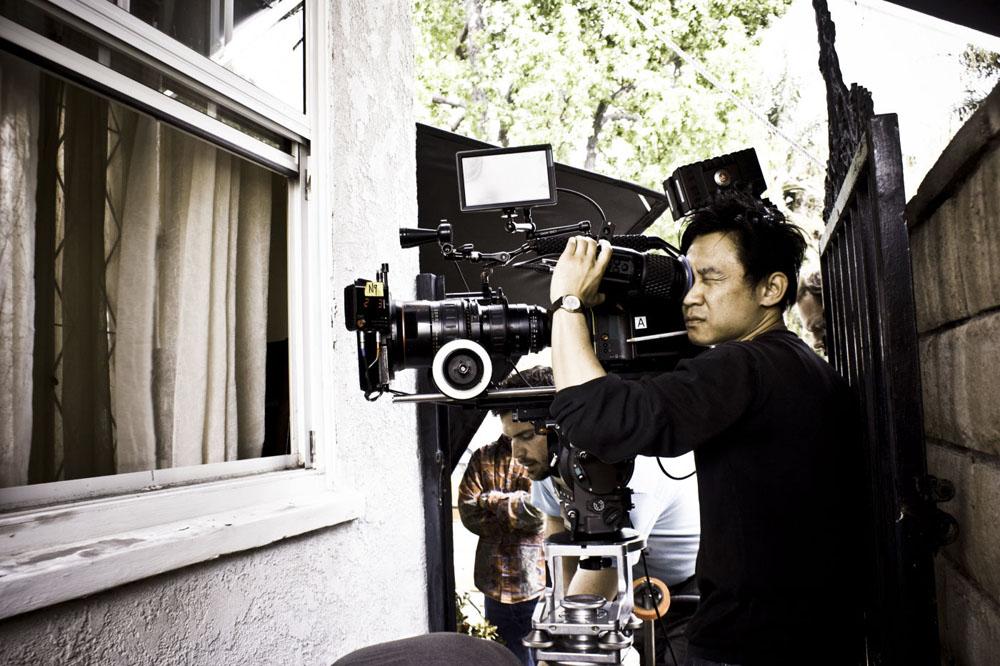 James Wan sul set di Insidious. -  Dall'articolo: La politica degli autori: James Wan.