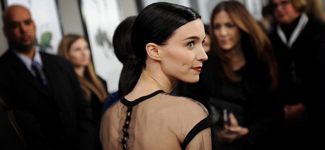 In foto Rooney Mara (34 anni) Dall'articolo: Millennium - Uomini che odiano le donne, la premiere di New York.