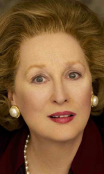 Orso d'oro alla carriera a Meryl Streep - In foto Meryl Streep nei panni di Margaret Thatcher in The Iron Lady.