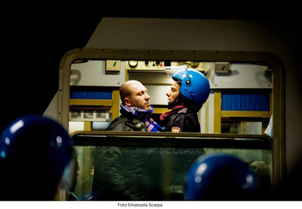 In foto Domenico Diele (35 anni) Dall'articolo: Acab, un fratello non si tradisce mai.