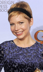 In foto Michelle Williams (38 anni) Dall'articolo: Golden Globes, trionfano Paradiso amaro e The Artist.