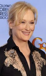 In foto Meryl Streep (70 anni) Dall'articolo: Golden Globes, trionfano Paradiso amaro e The Artist.