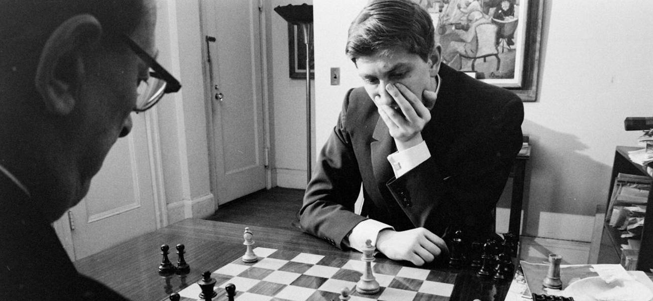 In foto Bobby Fischer Dall'articolo: La politica degli autori: Liz Garbus.