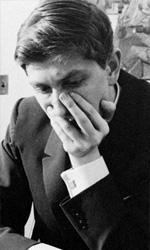La politica degli autori: Liz Garbus - In foto Bobby Fischer, leggenda degli scacchi e protagonista del documentario di Liz Garbus Bobby Fischer Against the World, su MYMOVIESLIVE! dal 23 gennaio al 5 febbraio.