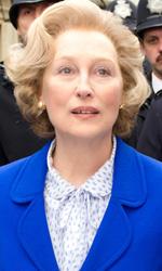 In foto Meryl Streep (70 anni) Dall'articolo: Potere, paradossi e decadenza di Margaret Thatcher.