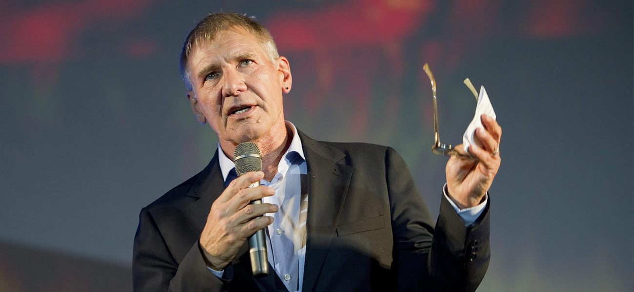 Niente più Blade Runner per Harrison Ford - In foto Harrison Ford.