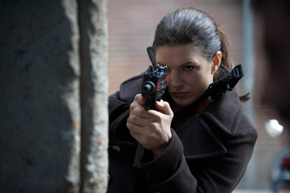 In foto Gina Carano (36 anni) Dall'articolo: Knockout, l'ora della vendetta.