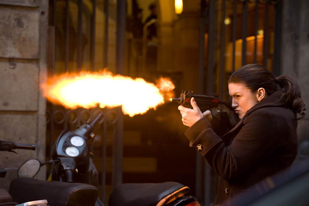 In foto Gina Carano (37 anni) Dall'articolo: Knockout, l'ora della vendetta.