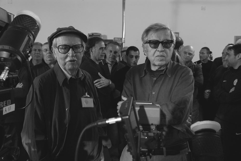 In foto Paolo Taviani (87 anni) Dall'articolo: Cesare deve morire, l'arte dietro le sbarre.