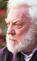 In foto Donald Sutherland (84 anni) Dall'articolo: The Hunger Games, una battaglia fino alla morte contro l'oppressione.