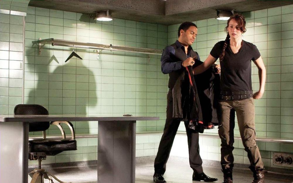 In foto Lenny Kravitz (55 anni) Dall'articolo: The Hunger Games, una battaglia fino alla morte contro l'oppressione.